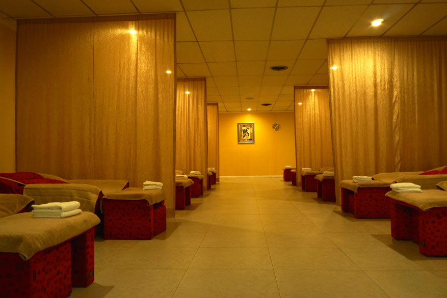 Foot Spa Massage Area